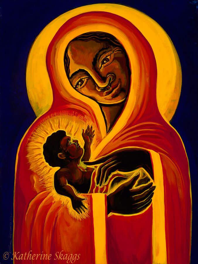 Black Madonna & Child
