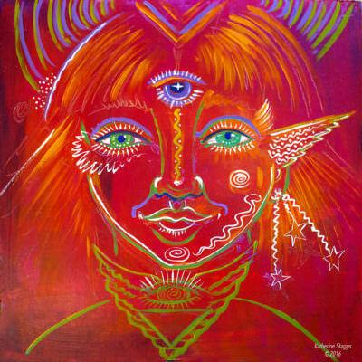 Inner Child Katherine Skaggs Artist