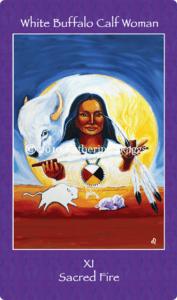 11_white_buffalo_calf_woman-mythical-goddess-tarot-katherine-skaggs-sage-holloway
