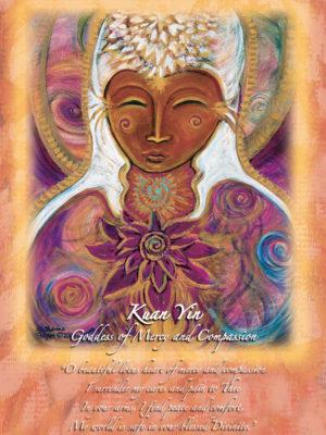 Kuan Yin Altar Card