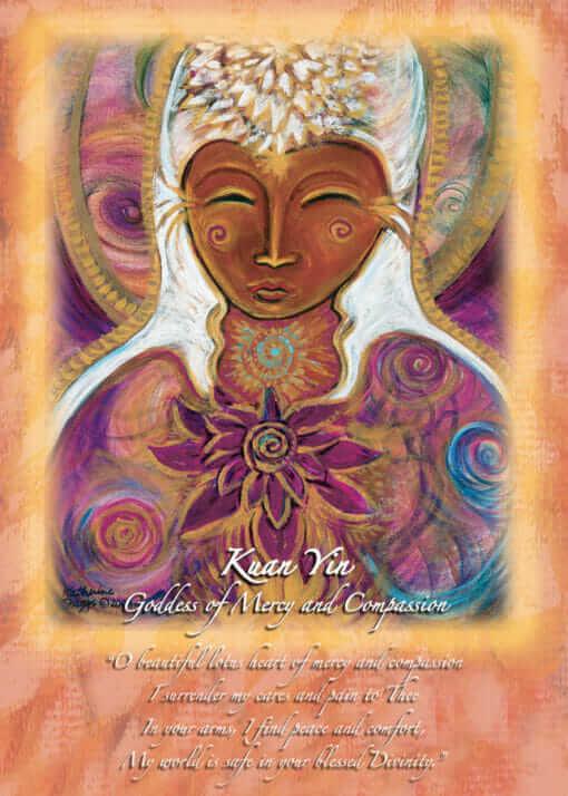 Katherine Skaggs Kuan Yin Altar Card