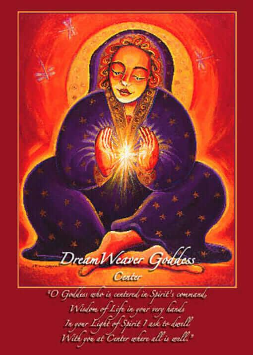 Katherine Skaggs Dream Weaver Altar Card