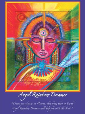 Angel Rainbow Dreamer Altar Card