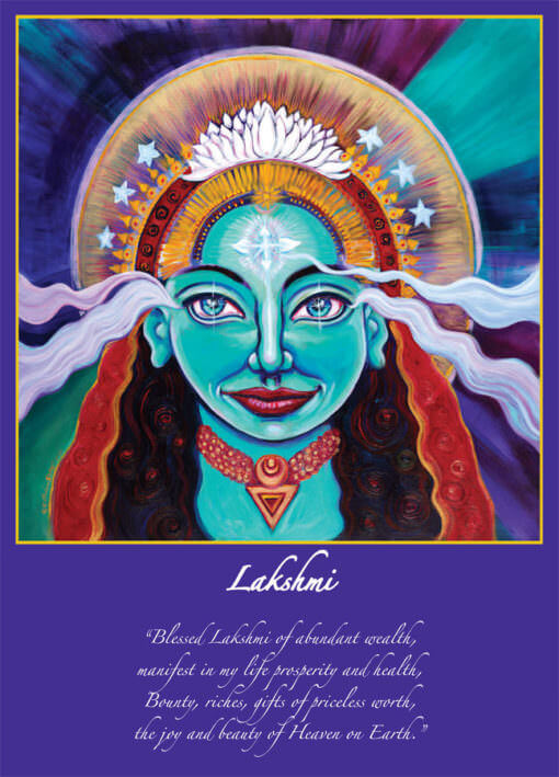 22 Goddesses - Mythical Goddess Altar Cards