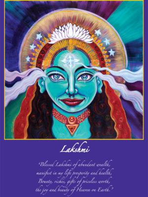 Lakshmi Altar Card