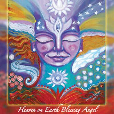 Katherine Skaggs Heaven on Earth Blessing Angel Altar Card