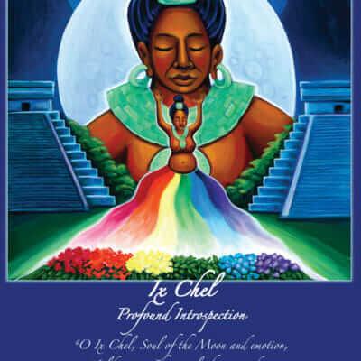 Katherine Skaggs Ix Chel Mayan Moon Goddess Altar Card