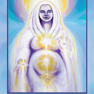 Katherine Skaggs Sophia Altar Card