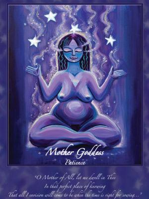 Mother Goddess Altar Card