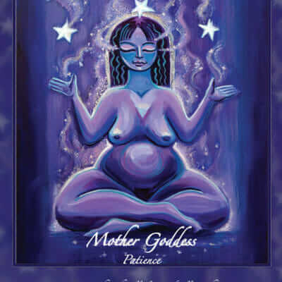 Katherine Skaggs Mother Goddess Patience Altar Card