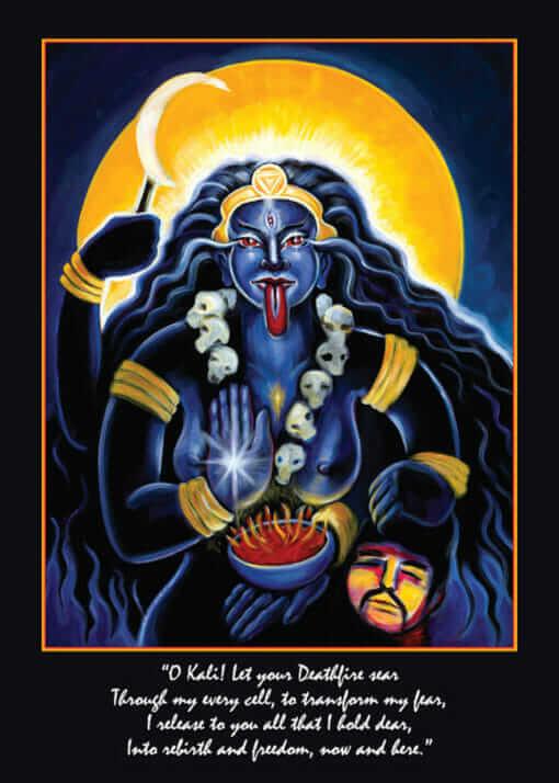 Katherine Skaggs Kali Altar Card