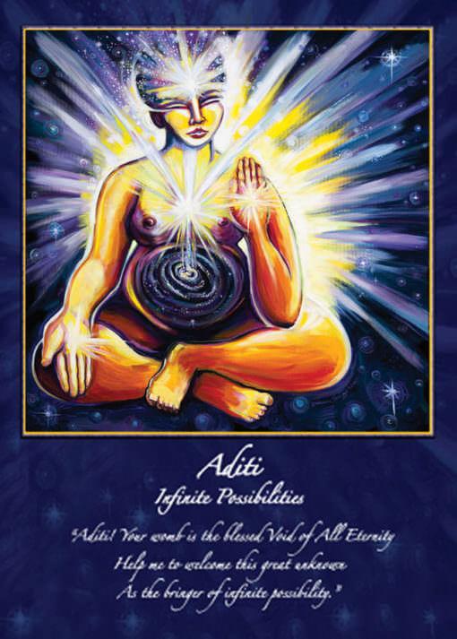 Katherine Skaggs Aditi Altar Card