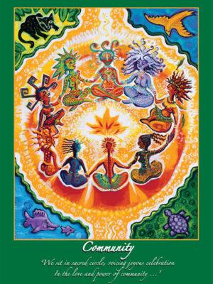 Community Altar Card