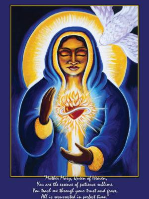 Mother Mary Altar Card