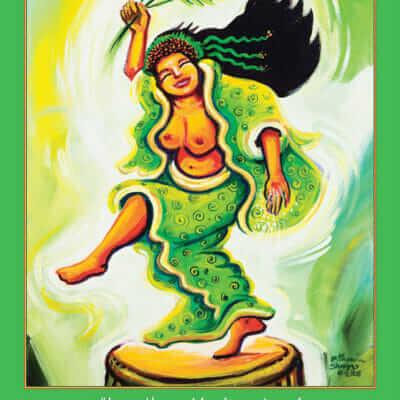 Katherine Skaggs Uzume Altar Card
