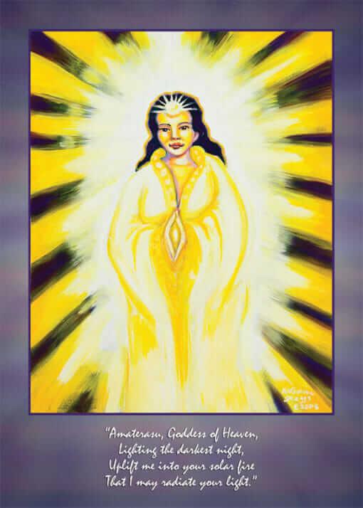 Katherine Skaggs Amerterasu Altar Card