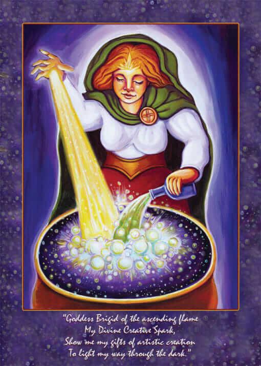 Katherine Skaggs Brigid Altar Card