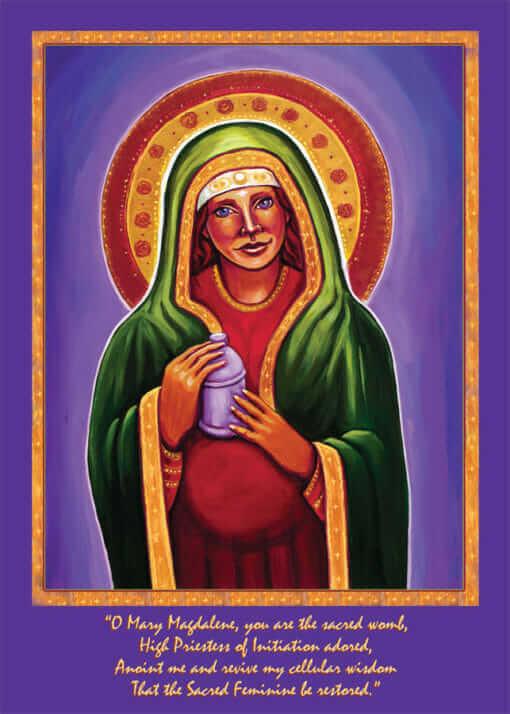 Katherine Skaggs Mary Magdalene Altar Card