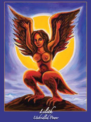 Lilith Altar Card