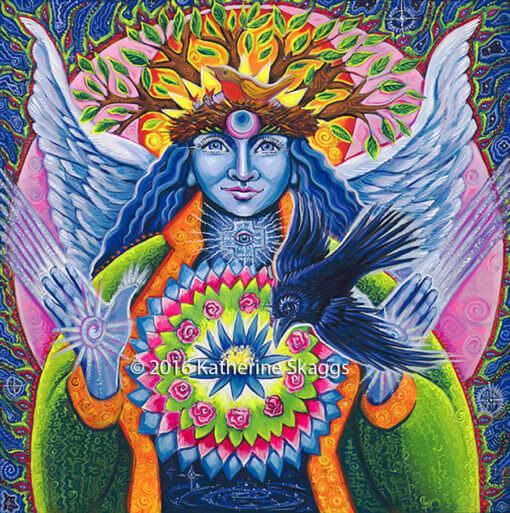 Estrella la luz, pleaiadian angel of new life by katherine skaggs