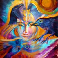 Soul Portrait & Spirit Guide Paintings
