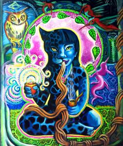 Jaguar Shaman Woman in la Selva-12deep