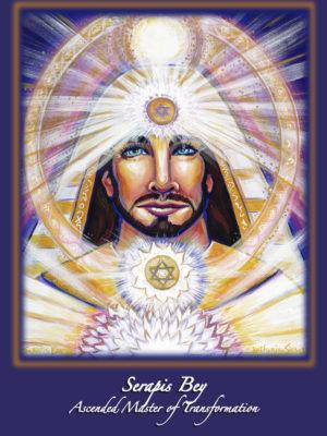Ascended Master Serapis Bey Altar Card