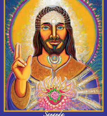 Sananda, Cosmic Christ Altar Card by Katherine Skaggs