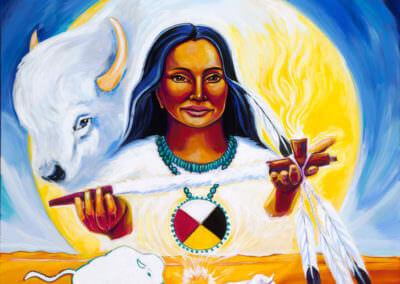 Katherine Skaggs White Buffalo Calf Woman
