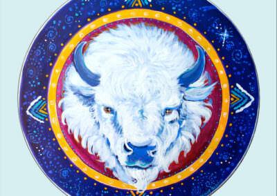 Buffalo Medicine Drum