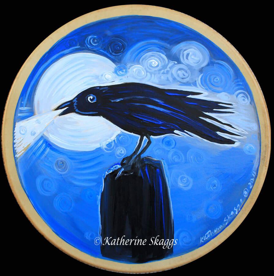 KATHERINE-SKAGGS-Crow-Medicine-Drum