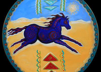 Horse Medicine Drum