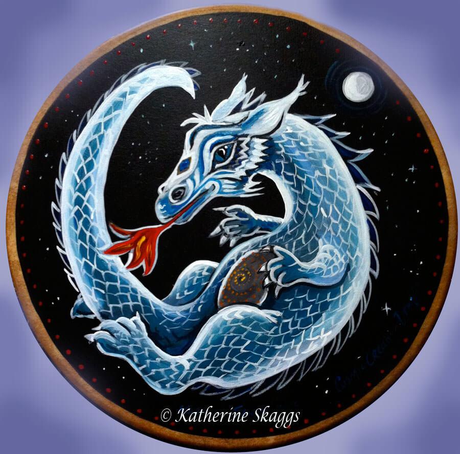 KATHERINE-SKAGGS-cosmic-creation-dragon-drum