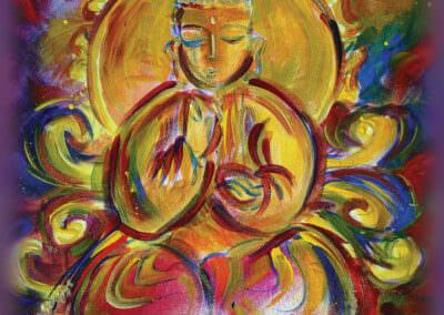 Katherine Skaggs Golden Buddha