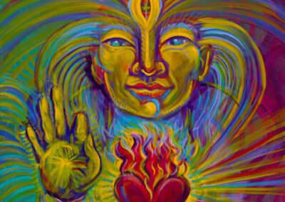 Katherine Skaggs Cosmic Christ