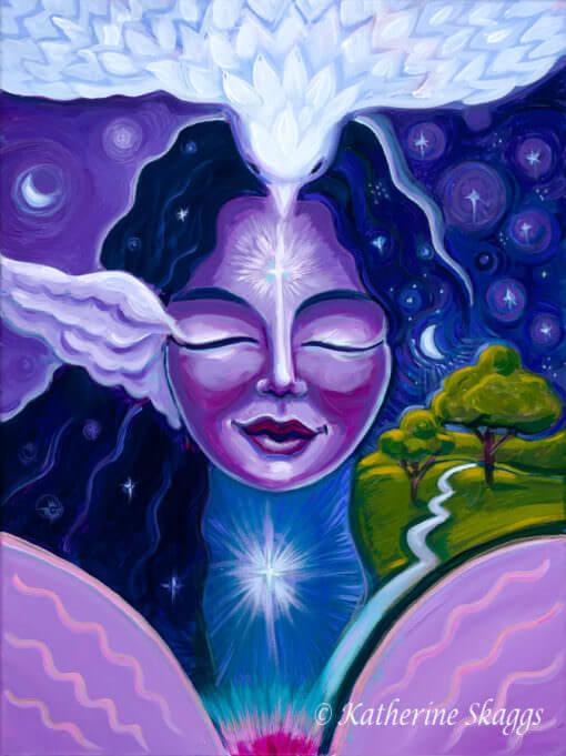 Katherine Skaggs Heavenly Night Angel of Peace