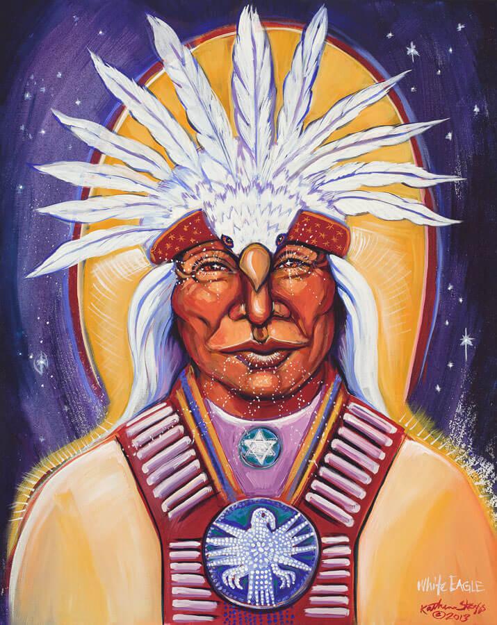 Ascended Master White Eagle | Katherine Skaggs