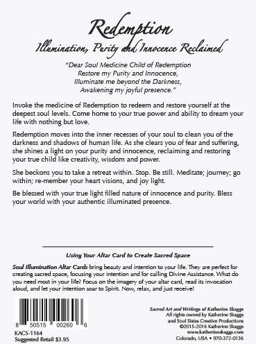 Redemption altar card katherine skaggs