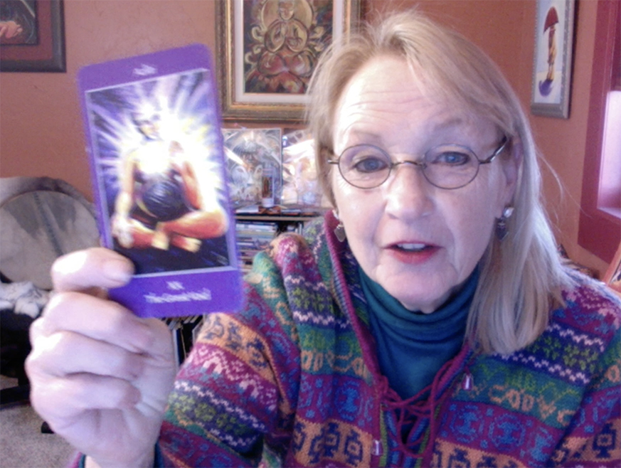 Dec. 4, 2020 Mythical Goddess Tarot Guidance – Aditi, and the Great Void with Katherine Skaggs
