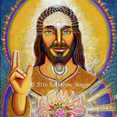 Sananda, the Cosmic Christ, by Katherine Skaggs