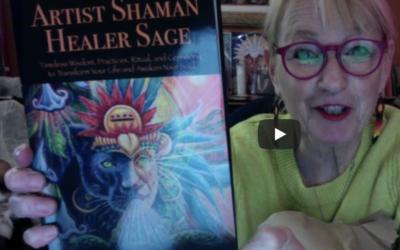 Book Reveal Artist Shaman Healer Sage