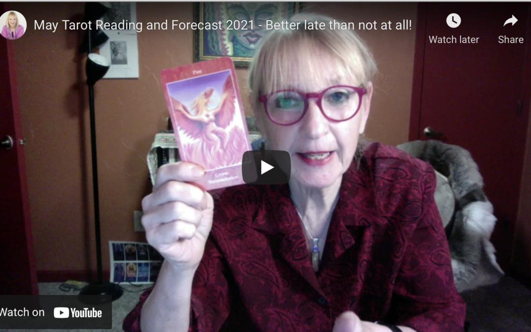 May 2021 Forecast – Mythical Goddess Tarot Reading