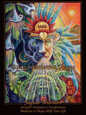 Jaguar Shaman Altar Card
