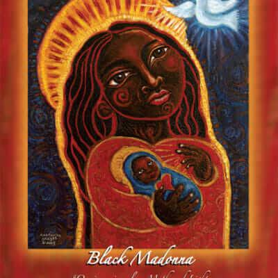 Katherine Skaggs Black Madonna Altar Card