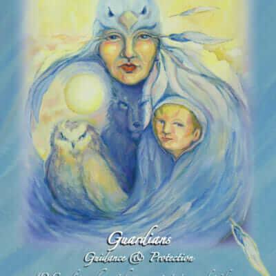 Katherine Skaggs Guardians Altar Card