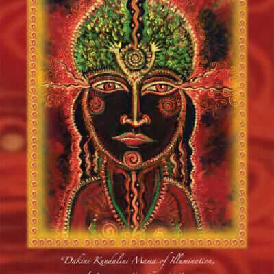 Katherine Skaggs Dakini Kundalini Mama Altar Card
