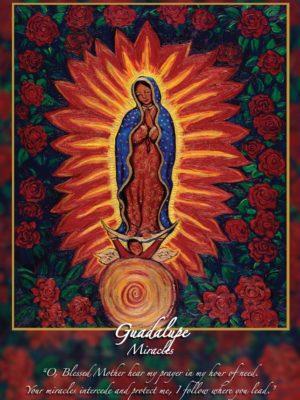 Guadalupe Altar Card