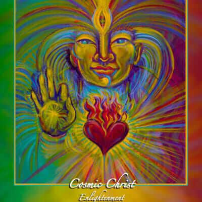 Katherine Skaggs Cosmic Christ Altar Card