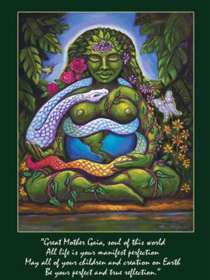 Gaia Altar Card