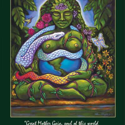 Katherine Skaggs Gaia Altar Card